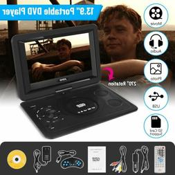 "10.1"" 13.9"" Portable DVD Player Swivel Screen LCD Widescreen"