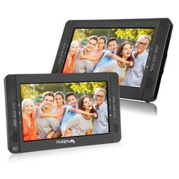 """10.1"""" Portable Dual DVD Players Twin Mobile DVD Players for"""