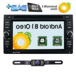 HIZPO 6.2''Android 8.1 WiFi 4G Double 2DIN Car Radio Stereo
