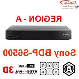 Sony BDP-S6500 Region A Blu-Ray and all Region DVD Player -