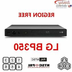 LG BP350 Multi Region Free DVD Blu-ray disc Player with WiFi