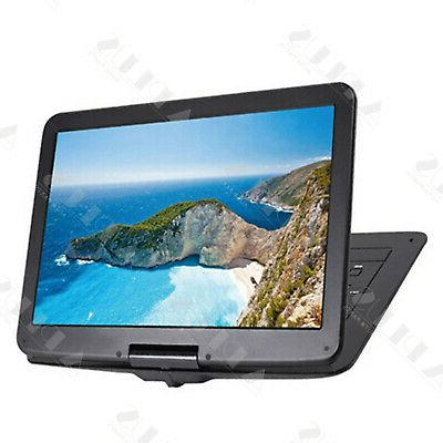 15'' Player HD Widescreen Built-in Rechargeable Battery