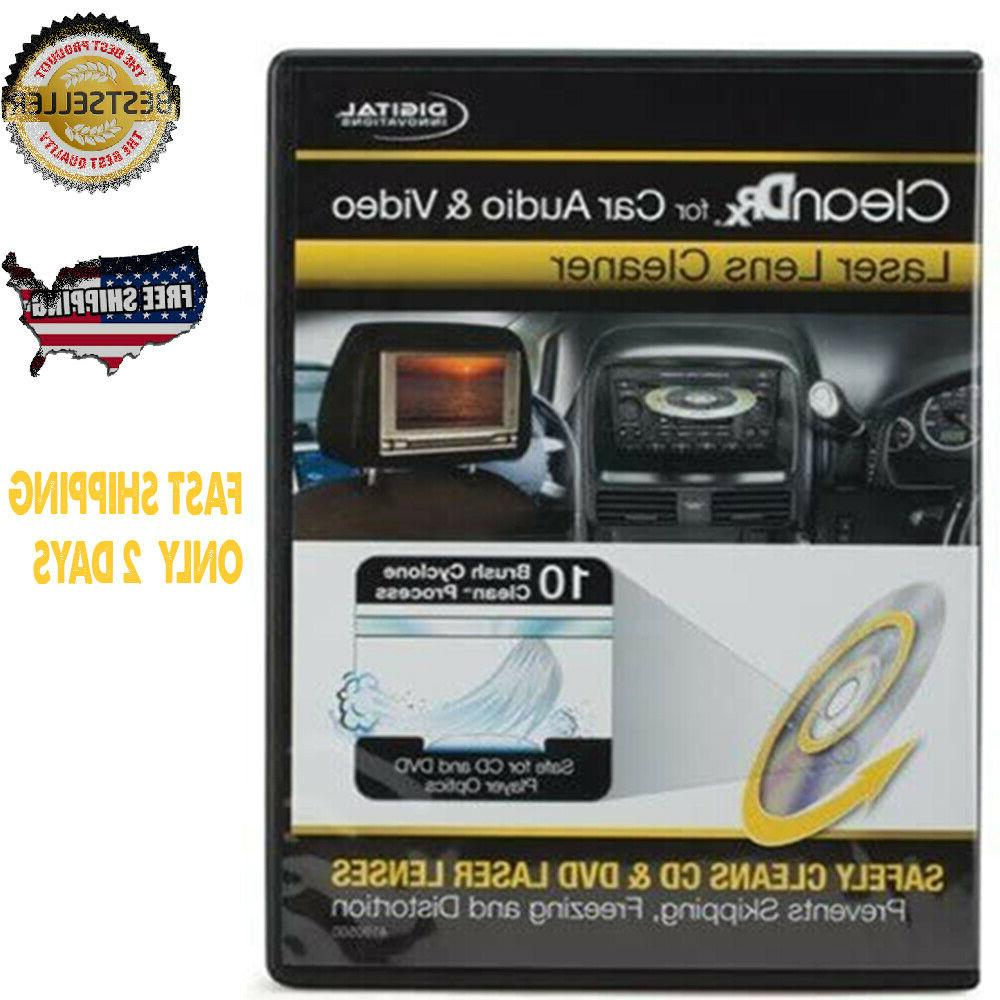cleandr for car audio and video lens