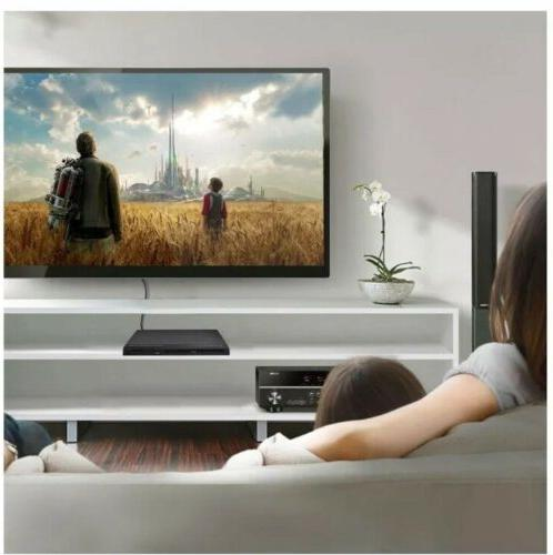 Hdmi Player With Remote Control In