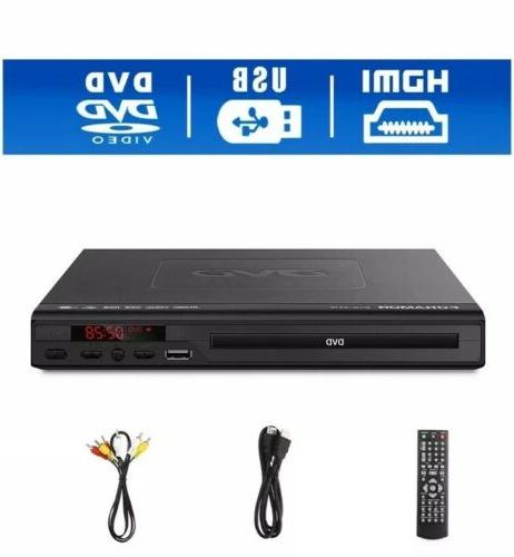 hdmi dvd player with remote control brand