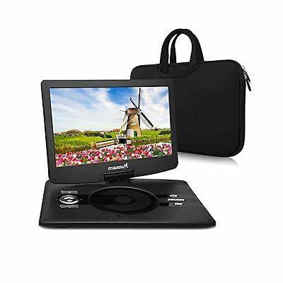 portable dvd player with 12 5 large