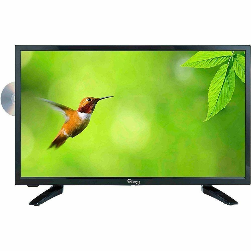 """Supersonic SC-1912 19"""" LED HDTV with Built-in DVD Player"""