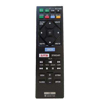 Replacement TV Remote Control For Sony Blue-ray DVD Players