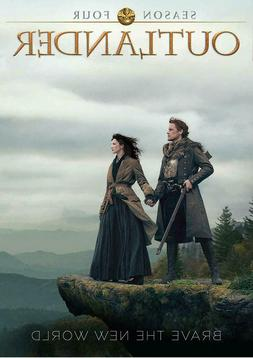 Outlander Season 4 DVD 2019 DOES NOT PLAY IN USA PLAYERS UK