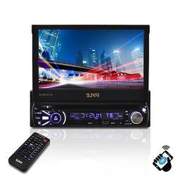 """PYLE PLTS78DUB 7"""" TOUCH SCREEN CD/DVD/MP3 Car Player w/USB S"""