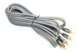 Rocketfish RF-G1211 2-RCA Audio Cable for JVC DVD CD Player