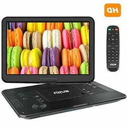 "SUNPIN Portable DVD Player 17.9"" with Large HD Swivel Screen"