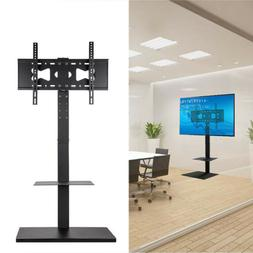 For TV LED LCD Monitor Screen Floor Stand TV Mount Bracket w